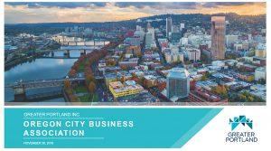 Oregon City Business Association event Portland